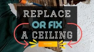 fix a ceiling